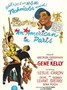 《一个美国人在巴黎》(1951)
