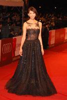 林志玲蕾丝黑裙