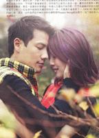 两人浪漫相拥