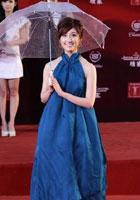 田中千绘蓝裙蓬松