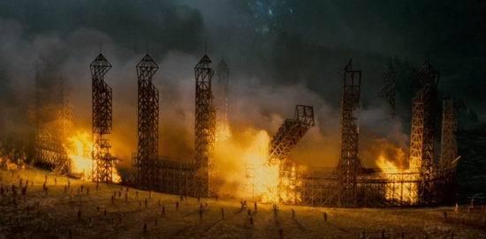 《哈利-波特》十大电影经典场景--魁地奇球场
