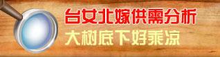 策划:娱乐急诊室VOL.14-台女北嫁供需分析