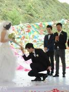 张杰跪地求婚