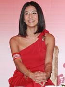 杨采妮笑容迷人