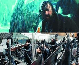 導演彼得-傑克遜在三部電影中都有客串