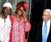 与前夫和以色列前总理沙龙