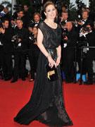 蔻洛黑裙冷艳高贵