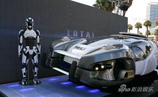 未来战警和磁悬浮汽车的实际版本-全面回忆 黑暗冷峻与宏伟壮观的两极高清图片