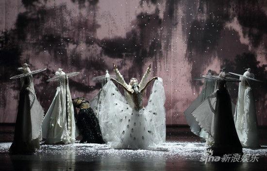 国家大剧院舞蹈节开幕 杨丽萍 孔雀 亮相