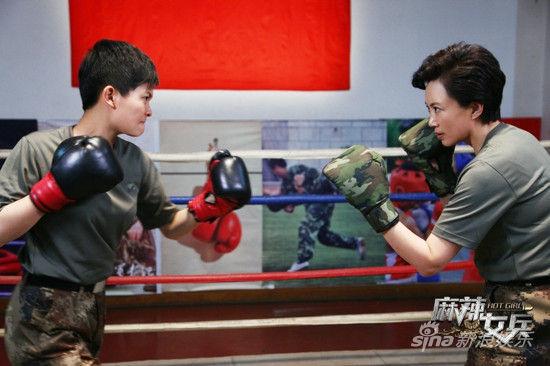汤小米与妈妈米蓝打拳赛定胜负