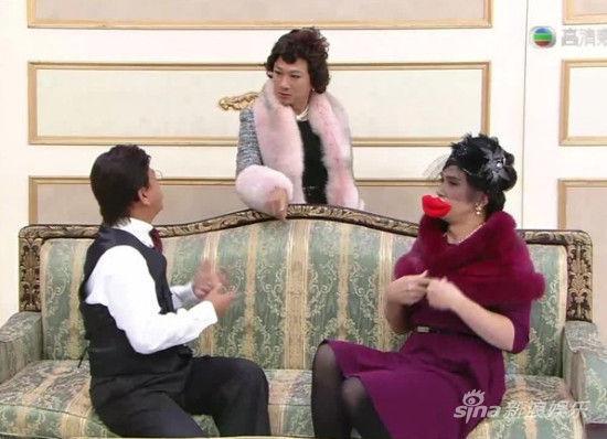 """黎耀祥、陈豪、郭晋安、谢天华上演""""名男望族"""""""