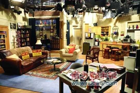 Sheldon和Leonard的公寓