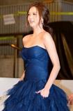 高雅拉蓝裙高贵
