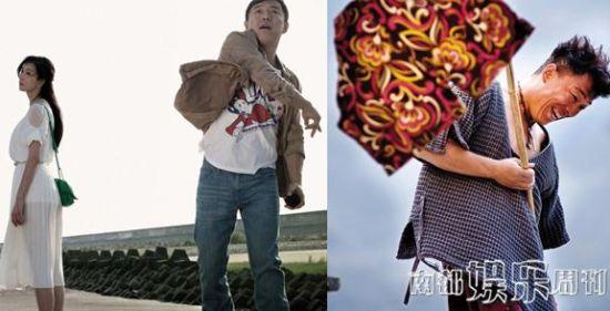 《101次求婚》林志玲与野兽的组合。黄渤在《杀生》才算真正主演。