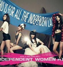 miss A《Independent Women Part3》