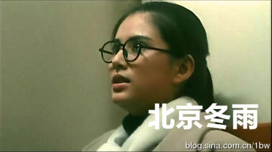 17岁的李若彤清纯漂亮