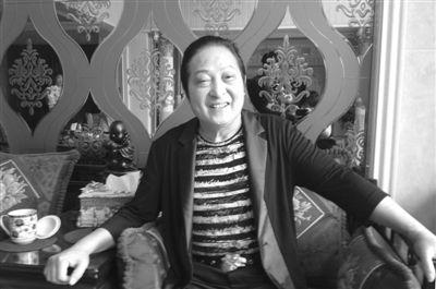7月17日,王林在家中接受新京报记者采访。