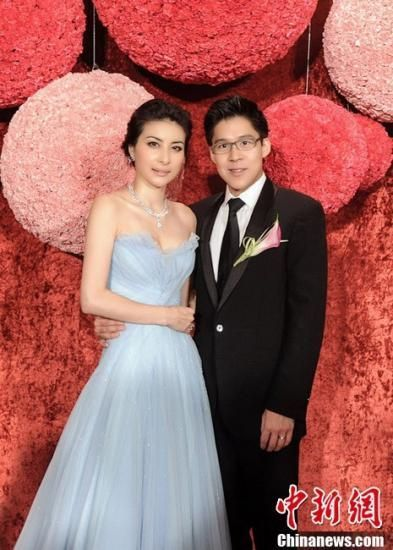 2012年11月10日,广东,郭晶晶、霍启刚广州南沙大酒店婚宴当天。