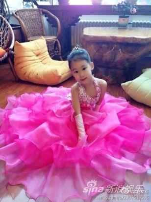 赵文卓6岁女儿