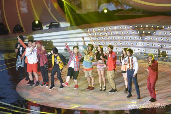 《我的中国星》12强选手同台献唱