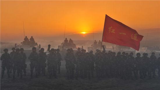 《目标战》的英雄作战队伍――红一连