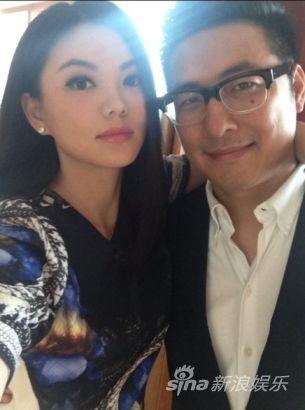 李湘和老公微博秀恩爱