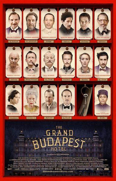 《布达佩斯大饭店》海报