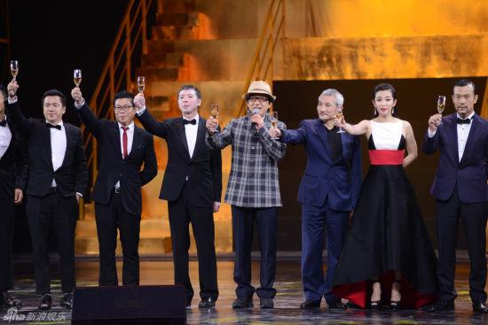 华谊兄弟20年庆,众多巨星到场。
