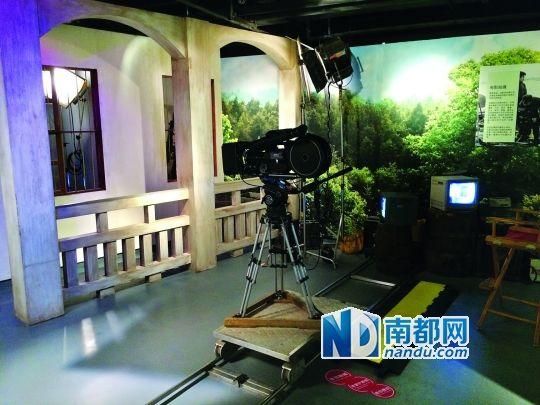 《A计划》模拟摄影棚。
