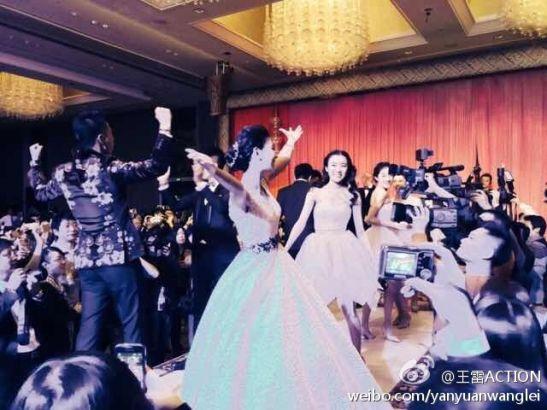王雷李小萌结婚一周年