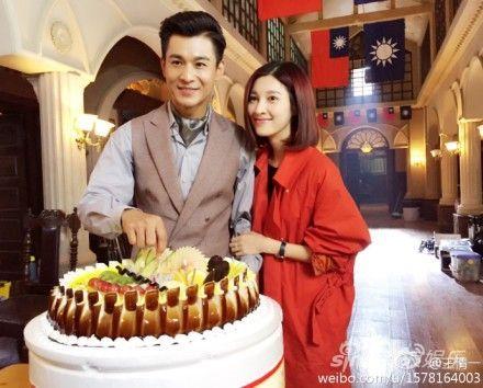 乔振宇和老婆王倩一