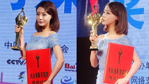 邓家佳凭《全民目击》获最佳女配角
