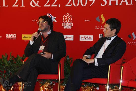 图文:首届ICIS启动--理莫托马斯与钟马克