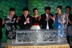 博纳英龙经纪公司正式成立成龙打造天后宫(图)