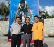 《一奥》海报揭幕起航奥运电影与火炬三亚聚会