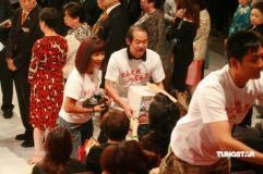 组图:TVB赈灾筹款超过两亿港台艺人心系灾区