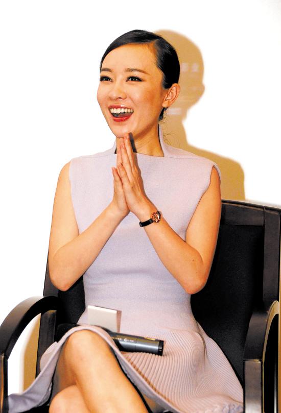 霍思燕公开与杨溢恋情:我绝不是小三(图)