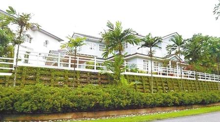 劉德華在馬來西亞為愛妻買的豪宅。