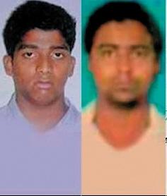 轮奸女记者一案中的两名主要嫌疑犯。