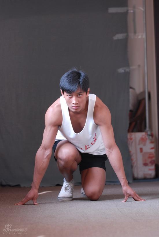 资料图片:电影《一个人的奥林匹克》剧照(61)