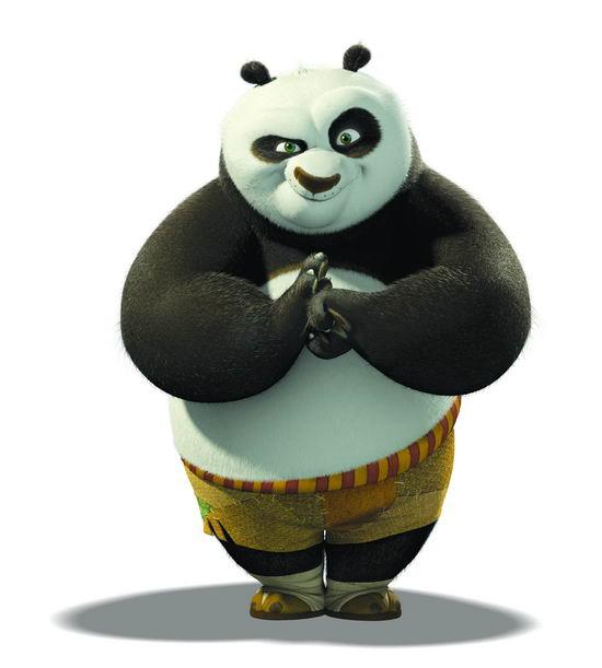 资料图片:动画《功夫熊猫》出场人物(5)