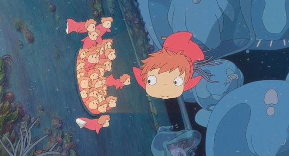 资料图片:动画片《悬崖上的金鱼姬》剧照(4)