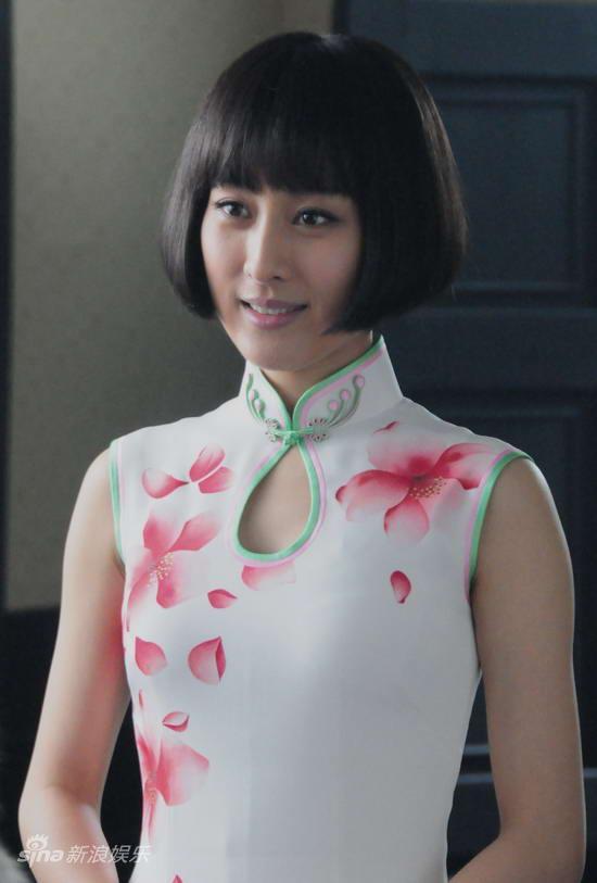 影视剧旗袍_电视剧《旗袍》收视高马苏身