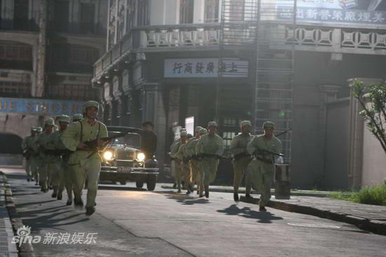 资料图片:《上海迷案-1937》精彩剧照(22)