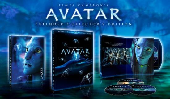 图文:《阿凡达》特别版DVD和蓝光影碟11月上市