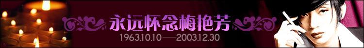 纪念梅艳芳逝世一周年