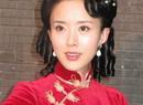 颜丹晨大红旗袍秀