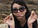 李琳:海边捡贝壳