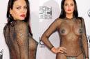 女星全裸着透视情趣衣