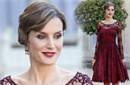 西班牙王妃穿透视红裙